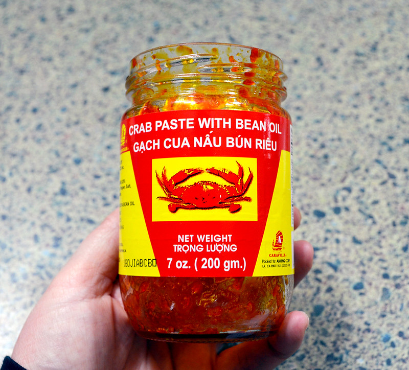 Crab Paste in Bean Oil