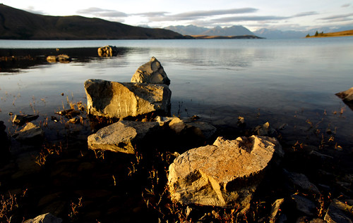 Evening at Lake Tekapo. (9)
