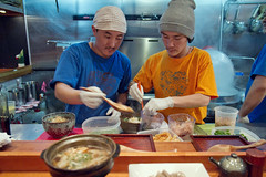 Soba chefs