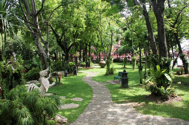 Gardens at the Erawan Museum