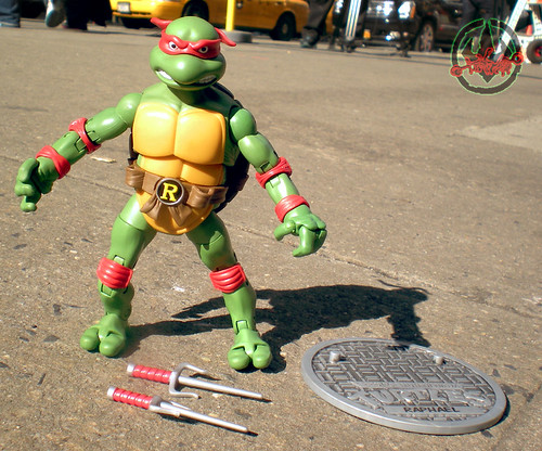 TEENAGE MUTANT NINJA TURTLES - CLASSIC COLLECTION :: RAPHAEL i (( 2012 ))