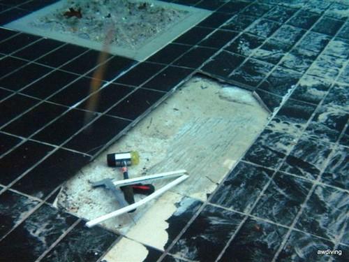 Schade aan cementvloer
