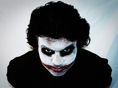 joker, face, clothing, white, head, fictional character, costume, illustration, black,