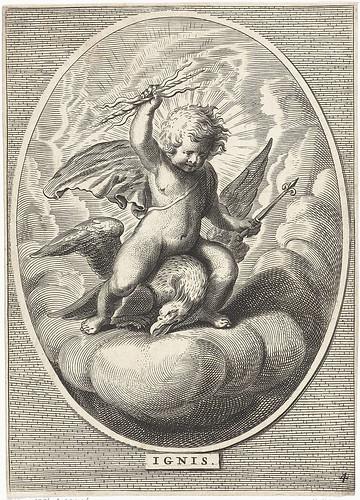 022-Elemento fuego, Cornelis van Dalen (II), 1648-Rijksmuseum API Collectie