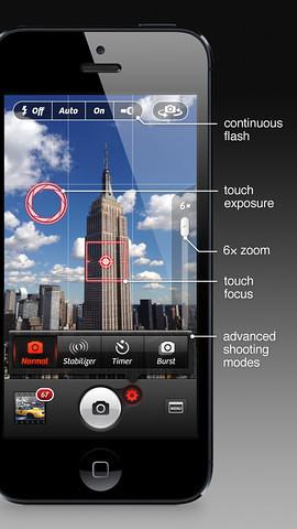 Camera+ App for iOS