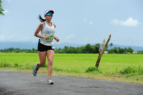 2011 Ironman 70.3 Philippines run relay