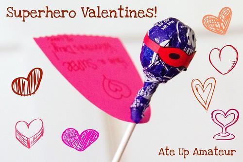 Title Superhero Valentines