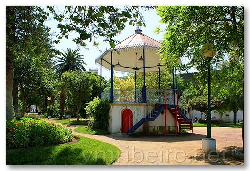 Coreto no Jardim Dr. Santiago by VRfoto