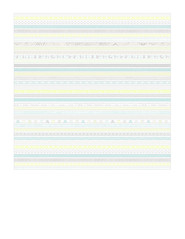 9b Thin patterned stripe - 7x7 inch
