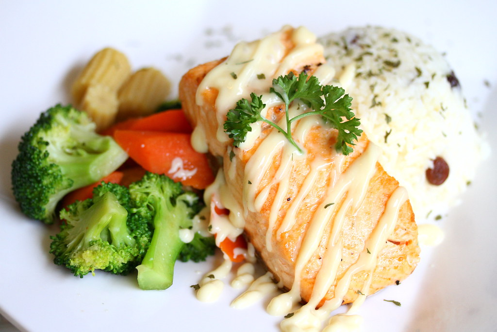 Bliss Restaurant: Salmon Fish Fillet
