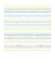 9a Bold patterned stripe - 7x7 inch