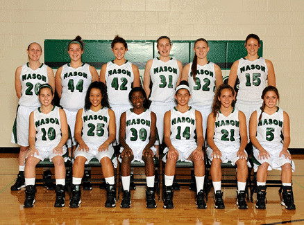 Mason girls' basketball