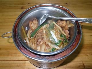 回鍋肉飯(ホイコーロウ)