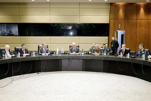 Συνάντηση με Κυπριακή Αντιπροσωπεία αποτελούμενη απο μέλη της Βουλής των Αντιπροσώπων (12/3/12)