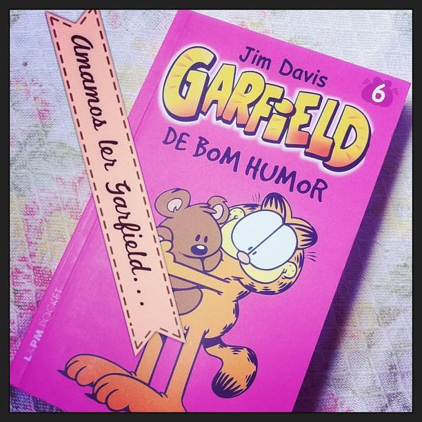 #Garfield #leitura #quadrinhos #livros