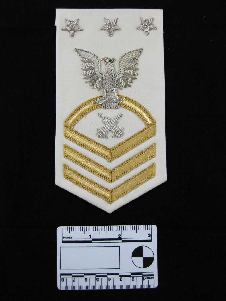 2012-58-4 Rating Badge Master Chief Petty Officer of The Navy