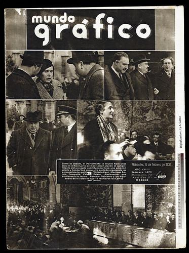 Mundo Gráfico 16 febrero 1938, con fotos de Agustí Centelles i Ossó. by Octavi Centelles