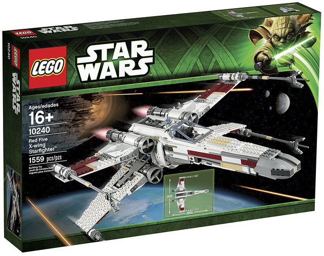 LEGO Star Wars Exclusive 10240 - Red Five X-Wing Starfighter - BoxArt