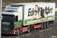 Scania G400 4x2 Tractor - PK60 FZH - Evie May - Eddie Stobart - M1 J10 Luton - Steven Gray - IMG_1106