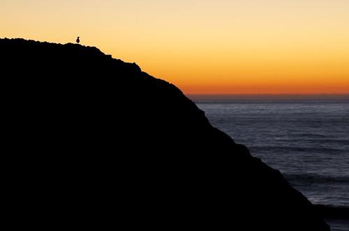 ocean sunset sun nature water oregon nikon newport oregoncoast sealrock d5000