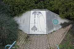 Photo of Aubrey Beardsley green plaque