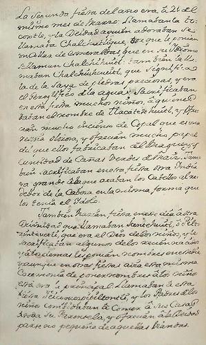 003- Texto de la fiesta de Tocoxtle-Códice Veitia- Biblioteca Virtual Miguel de Cervantes