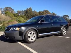 executive car(0.0), sedan(0.0), sports car(0.0), automobile(1.0), automotive exterior(1.0), audi(1.0), family car(1.0), wheel(1.0), vehicle(1.0), audi allroad(1.0), bumper(1.0), land vehicle(1.0), luxury vehicle(1.0),