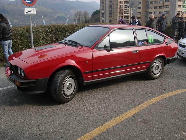 SALIDA ALFA ROMEO GTV