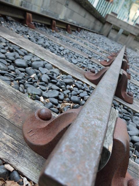 original railway track