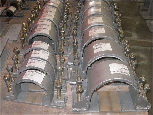 47 Hold-Down Pipe Clamps Designed for a Coal Fired Power Plant