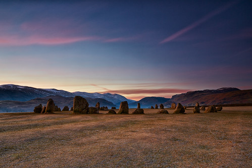 Castlerigg Stone Circle At Dawn