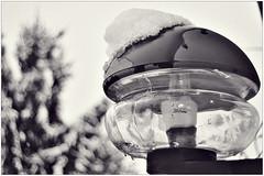 Lampe mit Käppchen