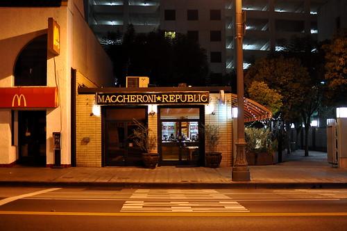 Maccheroni Republic - Downtown - Los Angeles