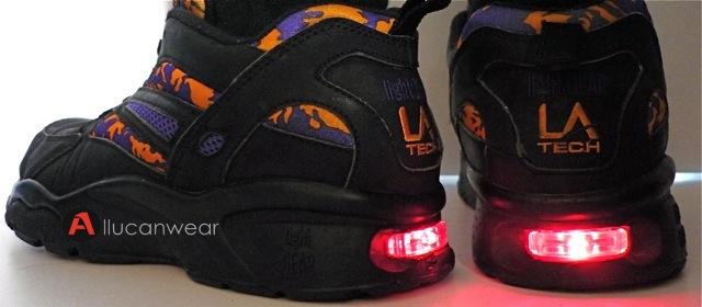 vintage la gear tech crossrunner light gear running sport shoes flickr photo sharing. Black Bedroom Furniture Sets. Home Design Ideas