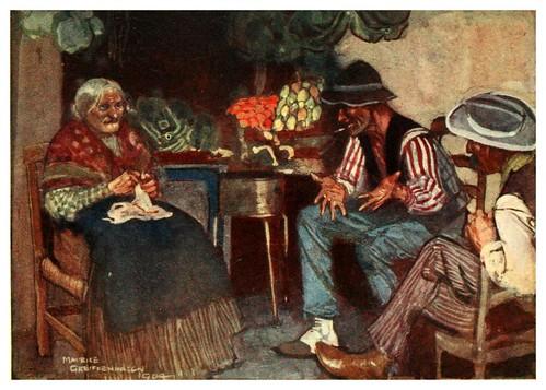 014-Gitanos en Napoles-Naples  past and present-1905-Maurice Grieffenhagen