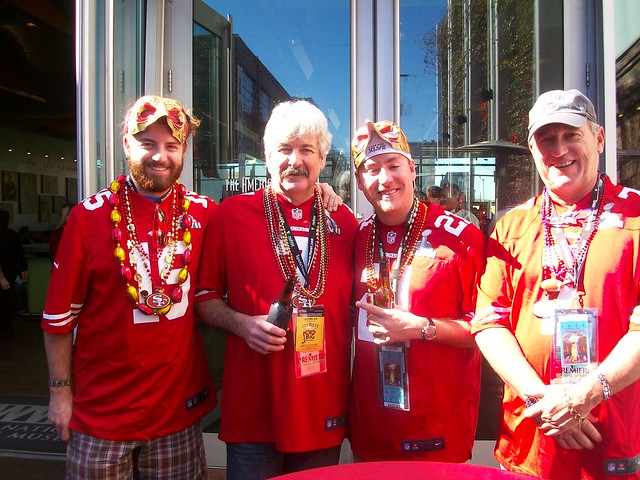 49ers Fans at Bayou Bash
