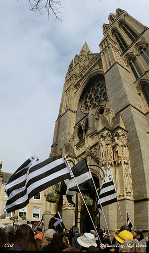 St.Piran's Day Parade, Truro, 5th March 2013 by Stocker Images