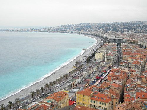 sea france nice view