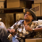 LeRoy McClain ('Walter Lee Younger') in the Huntington Theatre Company's production of Lorraine Hansberry's A RAISIN IN THE SUN. Mar. 8 - Apr. 7, 2013 at Avenue of the Arts / BU Theatre. huntingtontheatre.org. photo: T. Charles Erickson