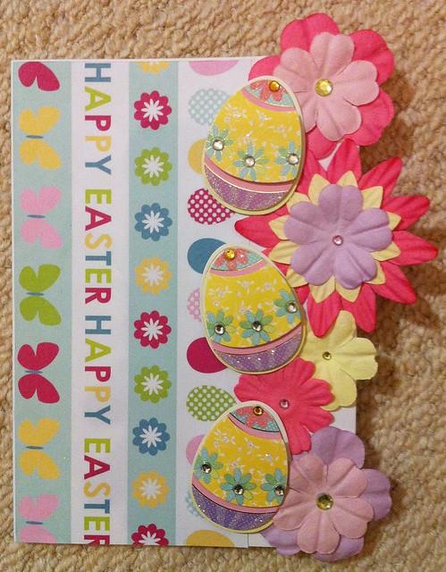 Spring crafts - Easter Card 2