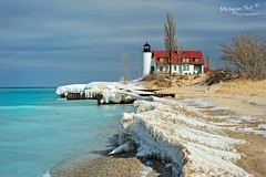 Just March(ing) Along.. Point Betsie Lighthouse by Michigan Nut