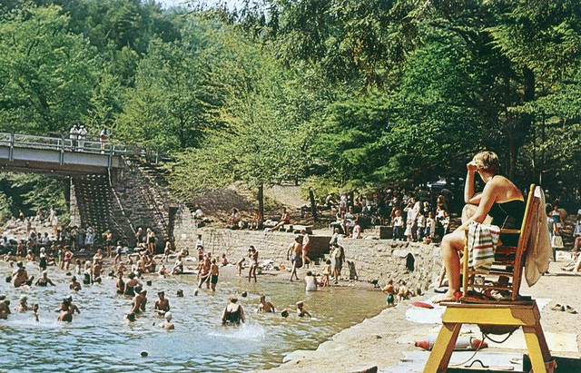 Swimming Pool At Worlds End State Park Pa Flickr Photo Sharing