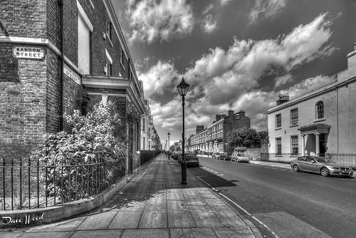 Corner of sandon street and huskisson street liverpool