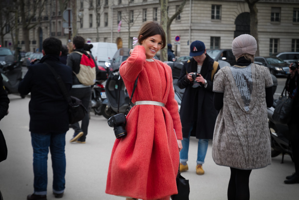 Tuukka13 -  Moods and People Outside Dior Womens FW 13 RTW Show - Paris Fashion Week -11