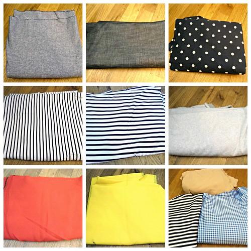 Fabric spoils, 1