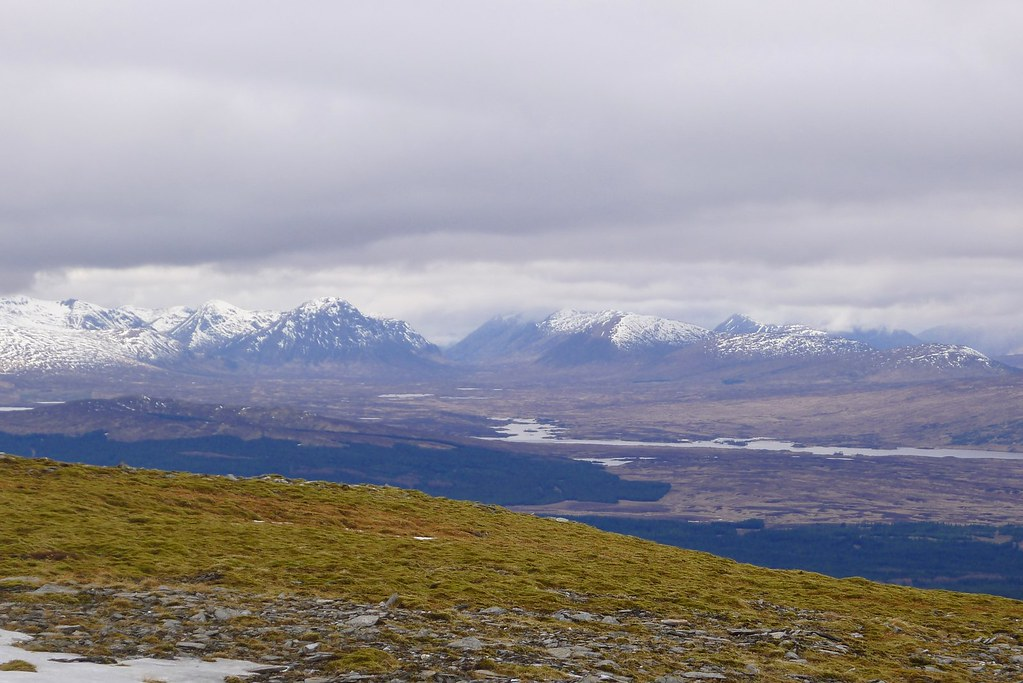 Glen Coe from Meall Buidhe