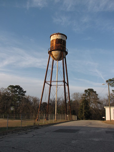 watertower rusty northcarolina fayetteville powellstreet cumberlandcounty cooperstreet masseyhill