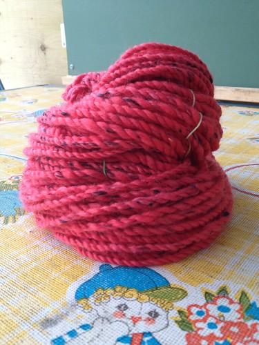 Ladybug yarn. #1