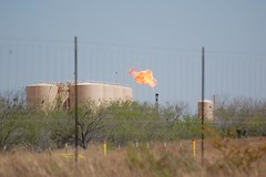 Natural Gas Flare, Outside Cotulla
