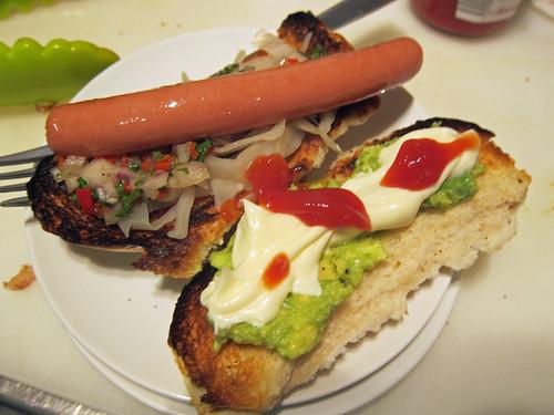 Guatemalan Hot Dog